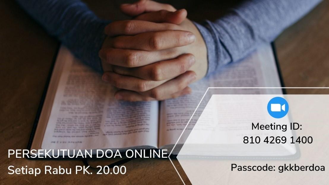 Persekutuan Doa Online